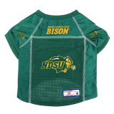 North Dakota State Bison Dog Pet Premium Alternate Mesh Football Jersey LE