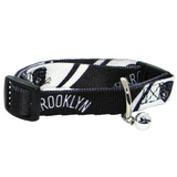 Brooklyn Nets Cat Adjustable Safety Collar w/ Bell