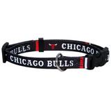 Chicago Bulls Dog Pet Adjustable Nylon Collar