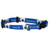 Dallas Mavericks Dog Pet Adjustable Nylon Collar