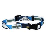Denver Nuggets Dog Pet Adjustable Nylon Collar