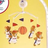 Detroit Pistons Baby Crib Musical Mobile