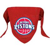 Detroit Pistons Dog Pet Mesh Basketball Jersey Bandana
