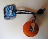 Miami Heat Dog Basketball Toy Toss Tug