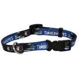 Minnesota Timberwolves Dog Pet Adjustable Nylon Collar