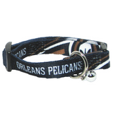 New Orleans Pelicans Cat Adjustable Safety Collar w/ Bell