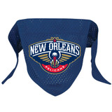 New Orleans Pelicans Dog Pet Mesh Basketball Jersey Bandana