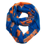 New York Knicks Paint Spatter Infinity Scarf