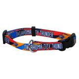 Oklahoma Thunder Dog Pet Adjustable Nylon Collar