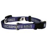 Sacramento Kings Dog Pet Adjustable Nylon Collar