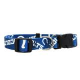 Indianapolis Colts Dog Pet Adjustable Nylon Logo Collar