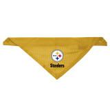 Pittsburgh Steelers Dog Pet Mesh Jersey Bandana Gold LE