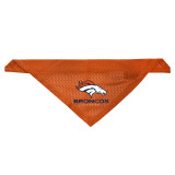 Denver Broncos Dog Pet Mesh Jersey Bandana Orange LE