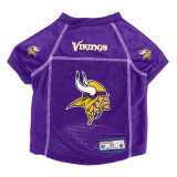 Minnesota Vikings Dog Pet Premium Alternate Mesh Football Jersey LE