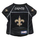 New Orleans Saints Dog Pet Premium Alternate Mesh Football Jersey LE