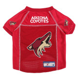 Arizona Coyotes Dog Pet Premium Mesh Hockey Jersey LE
