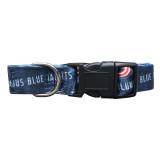 Columbus Blue Jackets Dog Pet Adjustable Nylon Logo Collar