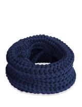 fabdog Dog Cat Knit Infinity Scarf Navy