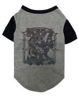 fabdog Dog Cat KISS '76 Concert Tour T-Shirt