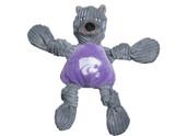 Kansas State Wildcats Mascot Premium Dog Toy Knotted Plush