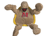 Maryland Terrapins Mascot Premium Dog Toy Knotted Plush