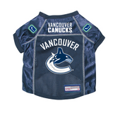 Vancouver Canucks Dog Pet Premium Mesh Hockey Jersey