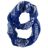 Vancouver Canucks Sheer Infinity Fashion Scarf
