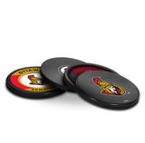 Ottawa Senators Real Hockey Puck Coasters Set