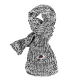 Colorado Avalanche Marled Yarn Scarf