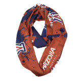 Arizona Wildcats Paint Spatter Infinity Scarf