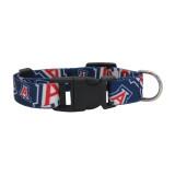 Arizona Wildcats Dog Pet Adjustable Nylon Logo Collar
