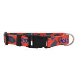 Florida Gators Dog Pet Adjustable Nylon Logo Collar