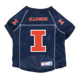 Illinois Fighting Illini Dog Pet Premium Alternate Mesh Football Jersey LE