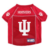 Indiana Hoosiers Dog Pet Premium Alternate Mesh Football Jersey LE