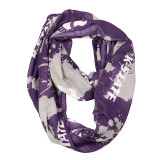 Kansas State Wildcats Paint Spatter Infinity Scarf