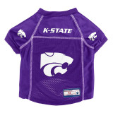 Kansas State Wildcats Dog Pet Premium Alternate Mesh Football Jersey LE