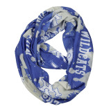 Kentucky Wildcats Paint Spatter Infinity Scarf