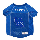 Kentucky Wildcats Dog Pet Premium Alternate Mesh Football Jersey LE