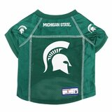 Michigan State Spartans Dog Pet Premium Alternate Mesh Football Jersey LE