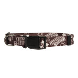 Mississippi State Bulldogs Dog Pet Adjustable Nylon Logo Collar