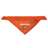Anaheim Ducks Dog Pet Mesh Jersey Bandana Orange