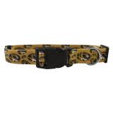 Missouri Mizzou Tigers Dog Pet Adjustable Nylon Logo Collar