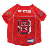 NC State Wolfpack Dog Pet Premium Alternate Mesh Football Jersey LE