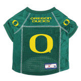 Oregon Ducks Dog Pet Premium Alternate Mesh Football Jersey LE
