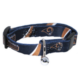 St. Louis Rams Cat Adjustable Safety Collar w/ Bell
