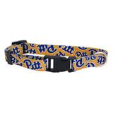 Pitt Panthers Dog Pet Adjustable Nylon Logo Collar