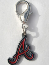 Atlanta Braves Premium Dog Cat Collar Charm