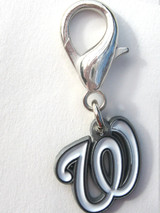 Washington Nationals Premium Dog Cat Collar Charm