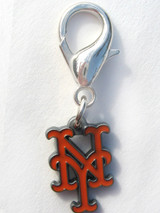 New York Mets Premium Dog Cat Collar Charm