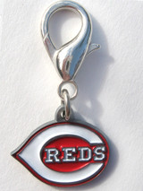 Cincinnati Reds Premium Dog Cat Collar Charm